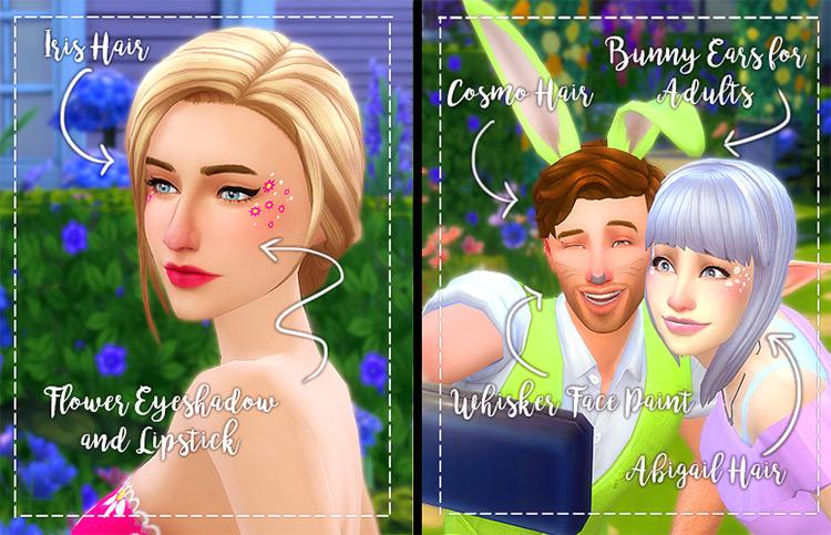 Bunny Ears CC for The Sims 4