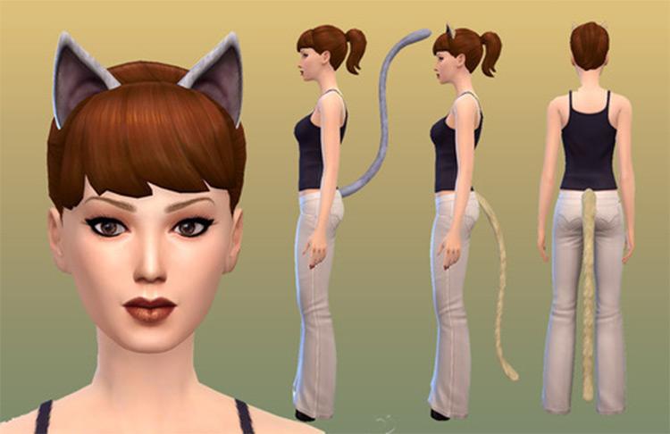 Unisex cat ears CC - TS4