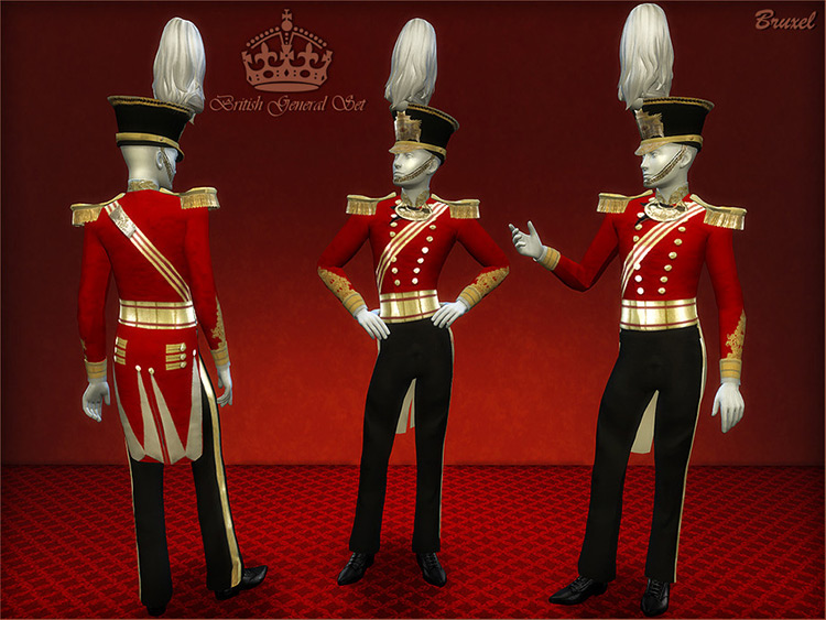 British General CC Set for The Sims 4