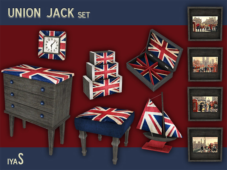 Union Jack Set for your Living Room