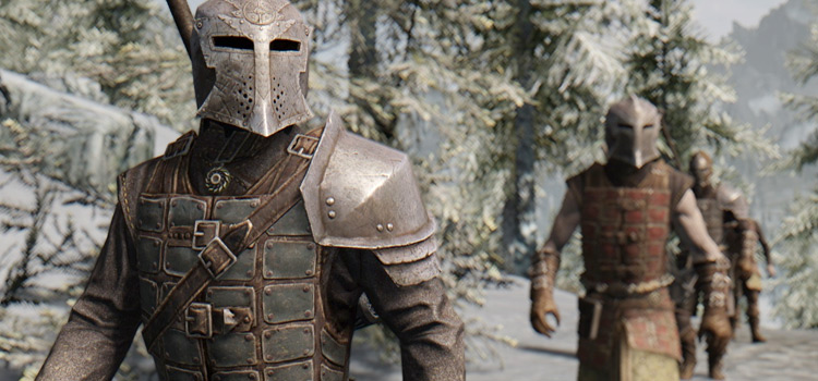 Immersive Patrols guards in Skyrim SSE