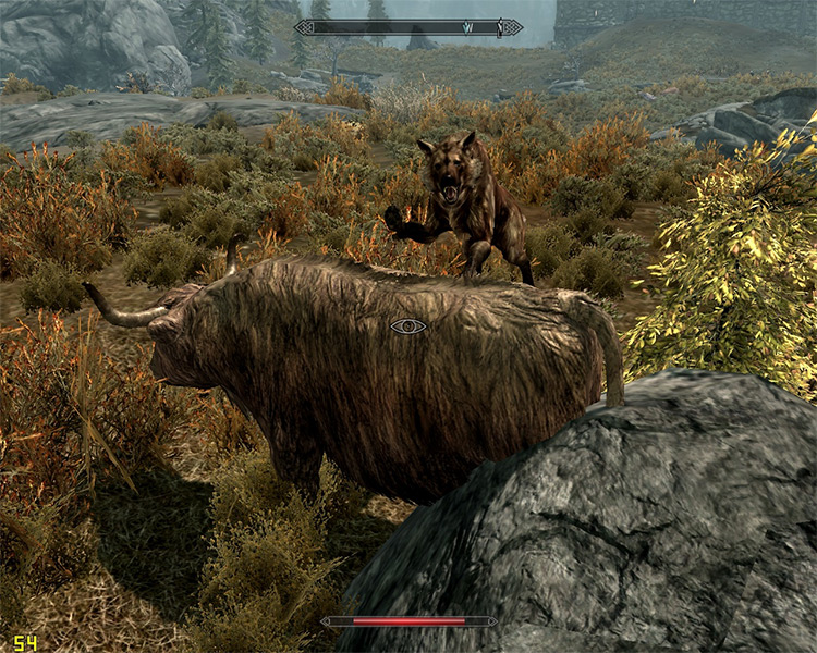 Realistic Animals and Predators Mod for Skyrim
