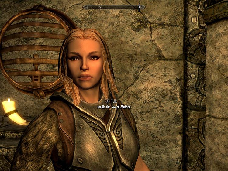 Decent Women Beauty Mod - Jordis the Sword-Maiden in Skyrim
