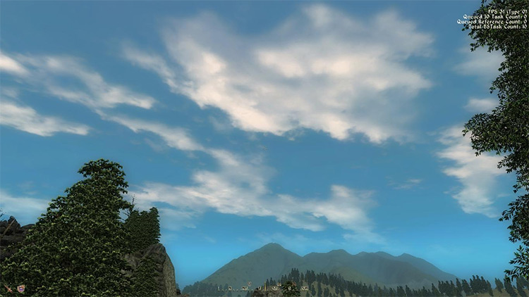 Weather Mod for TES Oblivion