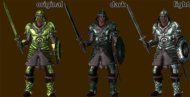 Oblivion Upscaled Textures Mod