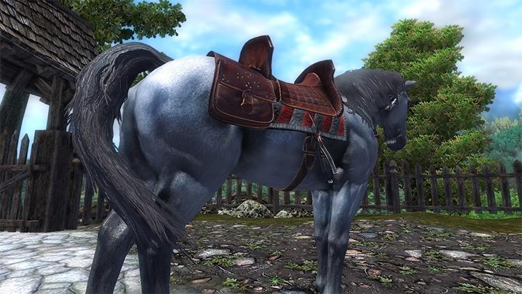 Horses Retexture Mod for Oblivion