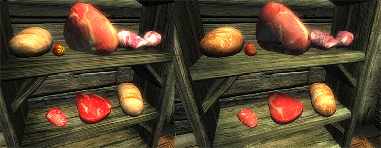 Improved Fruits and Vegetables Mod for TES4: Oblivion