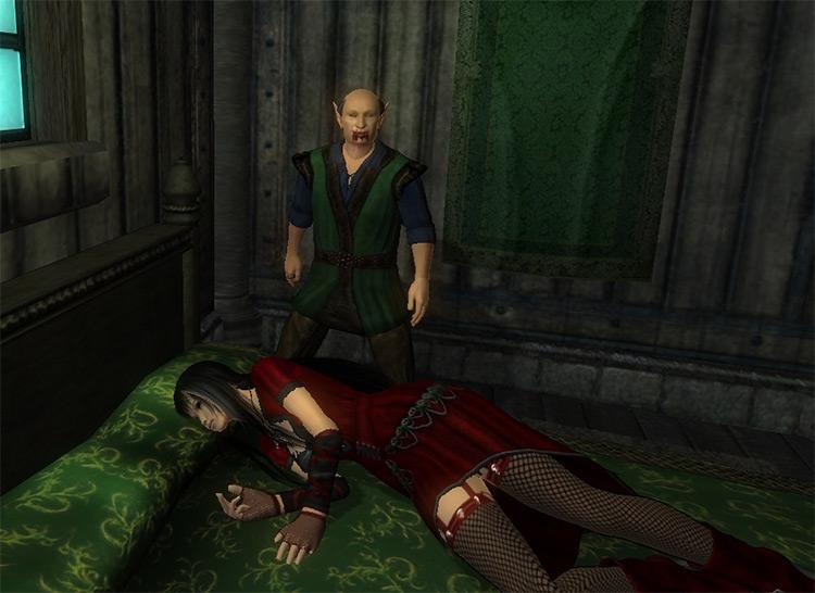 Unholy Darkness Mod for TES4 Oblivion