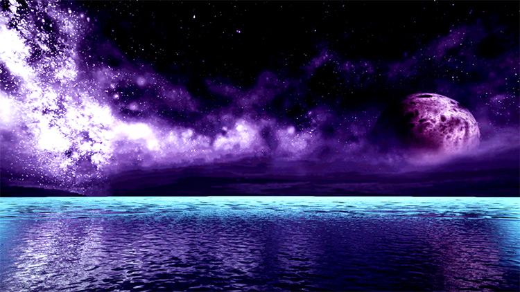 Purple Galaxy Azure 2 - Tekken 7 Mod