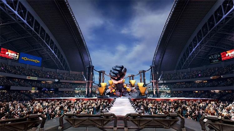 Mishima Arena Stage Mod