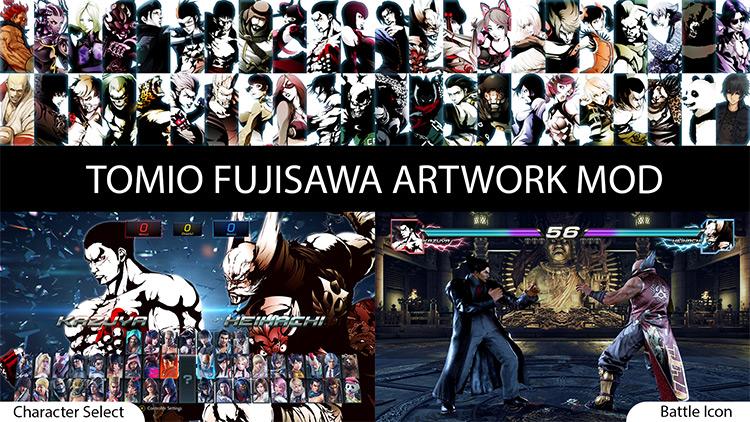 Tomio Fujisawa Character Select Mod