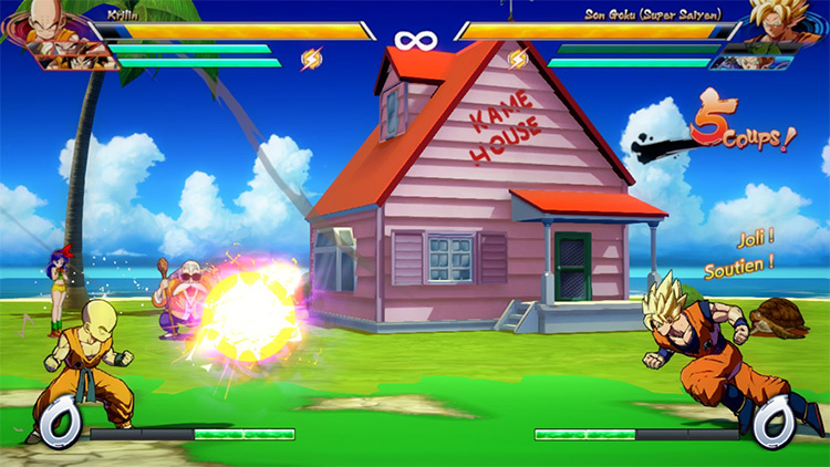 Kame House Stage Mod for FighterZ