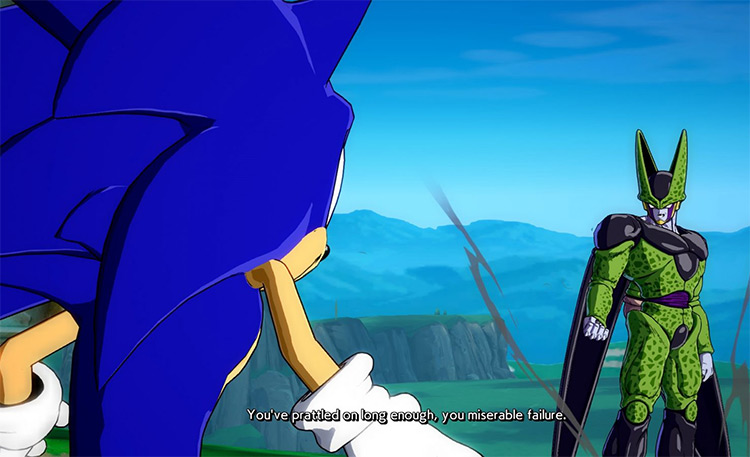 Actually Sonic Mod for FighterZ