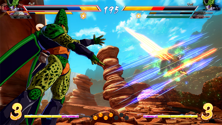 Semi-Perfect Cell in FighterZ