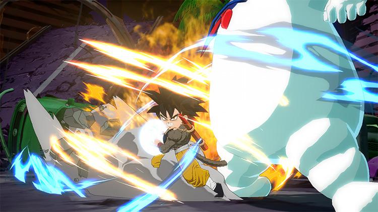Super Saiyan 4 Goku Mod - FighterZ
