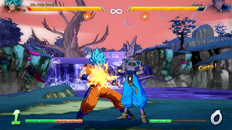Beerus Planet Stage Mod
