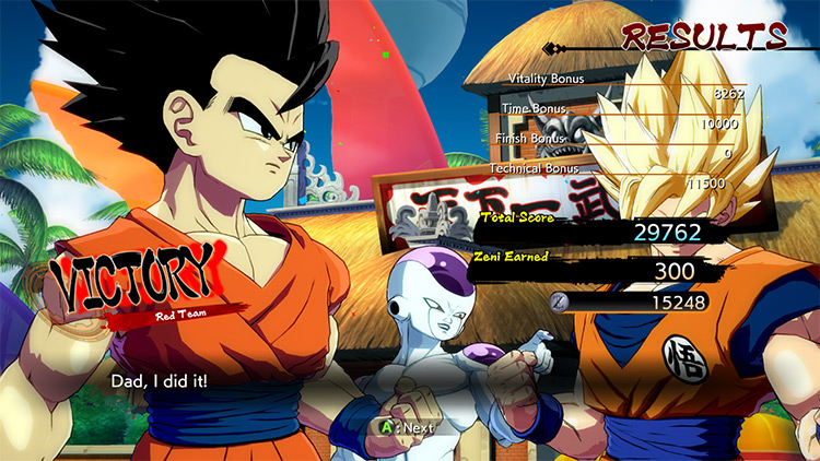 Ultimate Teen Gohan Mod for DBFighterZ