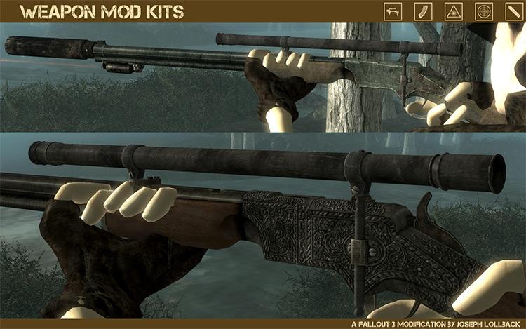 Weapon Mod Kits Fallout 3