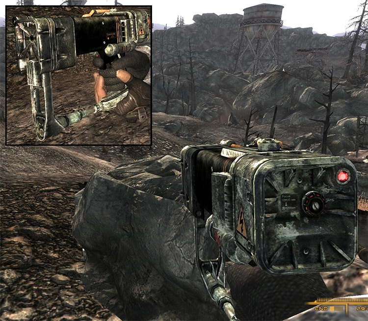 Energy Weapons Advanced Mod for Fallout 3