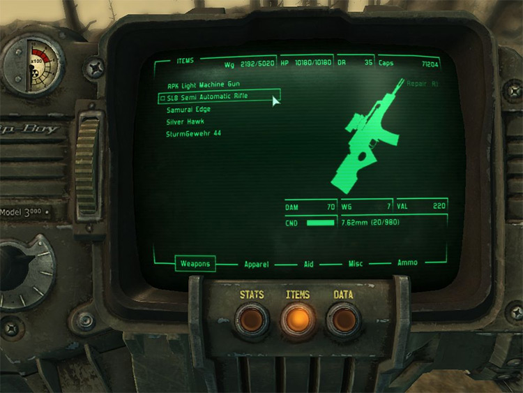 FWE Weapons Pack for Fallout 3