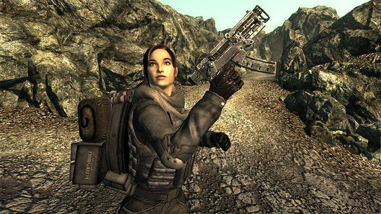 Sydney Follower Mod - Fallout 3