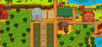 Lakeside Farm Map for Stardew Valley
