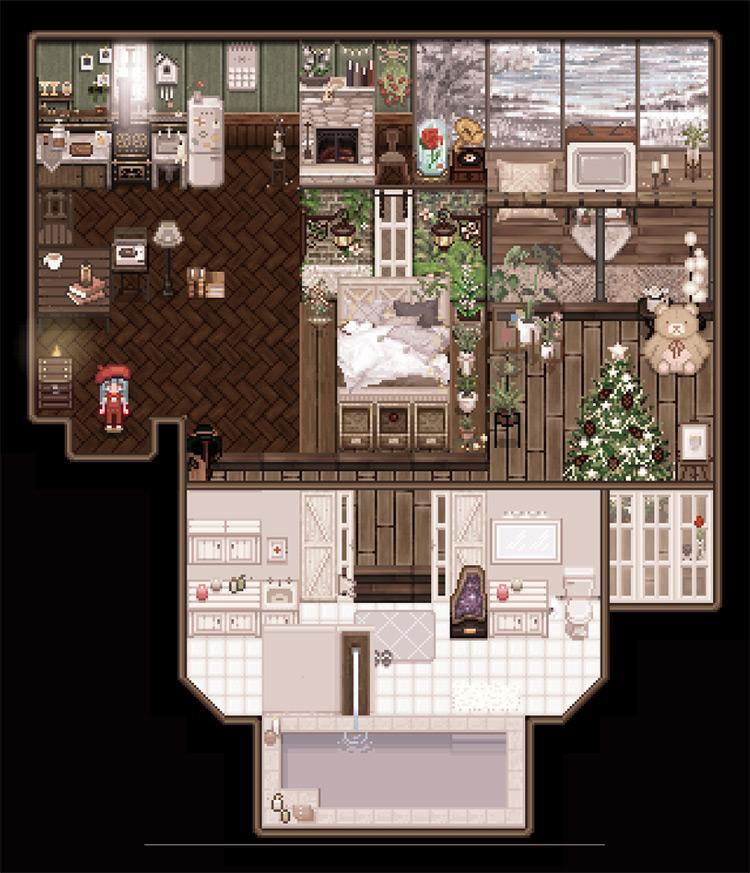 Seasonal Garden Farmhouse V2 Map