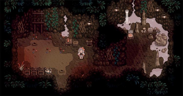 Hot Spring Farm Cave Mod