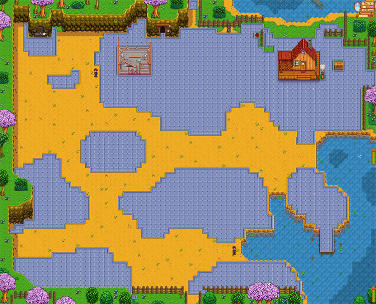 Lakeside Farm Map
