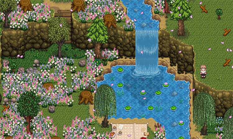 White Water Farm Map Mod