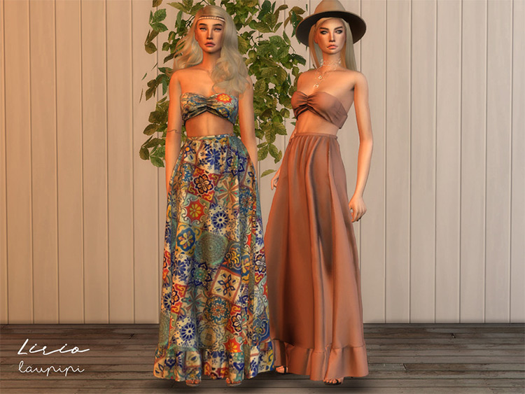 Lirio Boho - Sims 4 CC