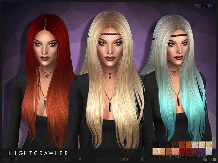 Sunny Hair CC for Sims 4