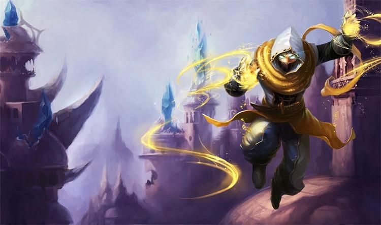 LoL Shadow Prince Mazahar skin