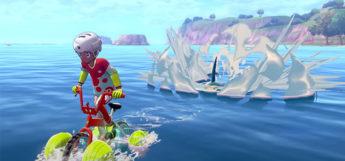 Riding Across Water in Pokemon Sword