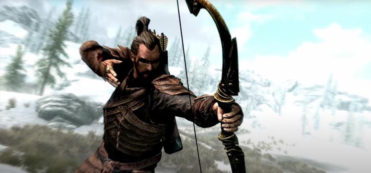 Bosmer Wood Elf Archer in Skyrim