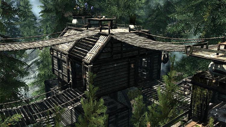 Elvenwood Mod / Skyrim screenshot