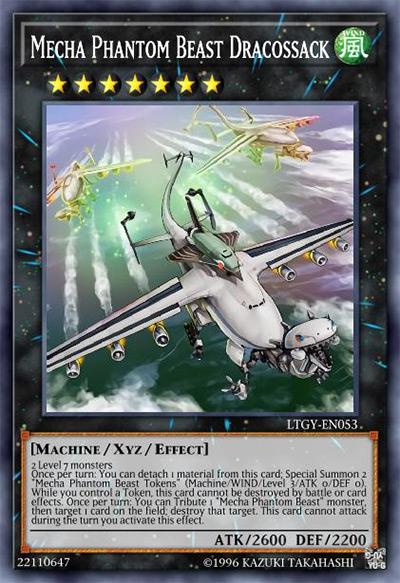 Mecha Phantom Beast Dracossack YGO Card