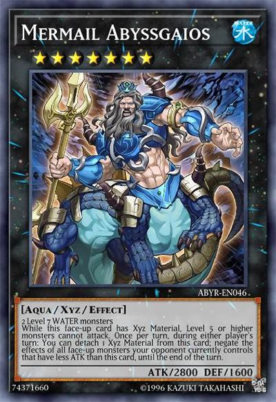 Mermail Abyssgaios Yu-Gi-Oh Card