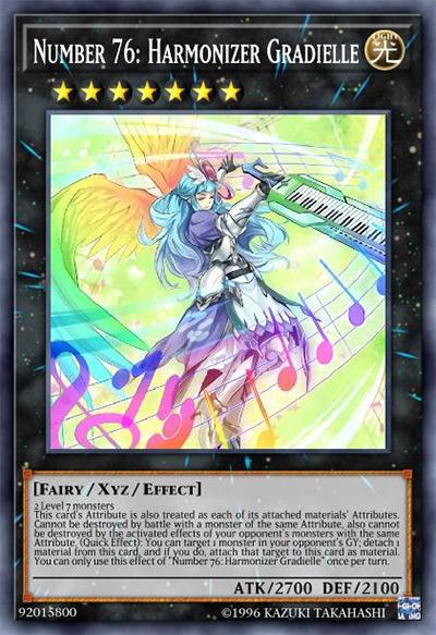 Number 76: Harmonizer Gradielle YGO Card