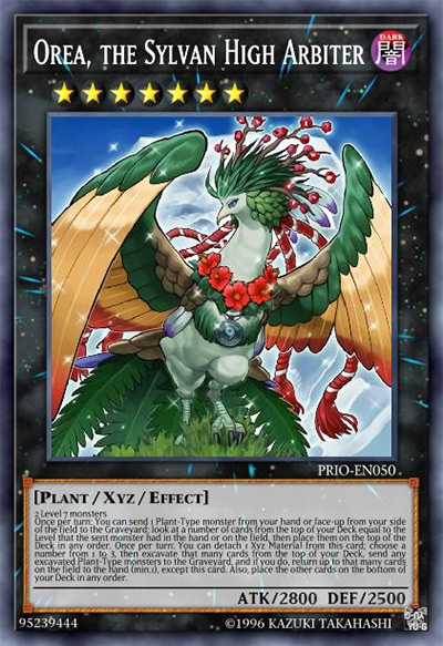 Orea, the Sylvan High Arbiter Yu-Gi-Oh Card