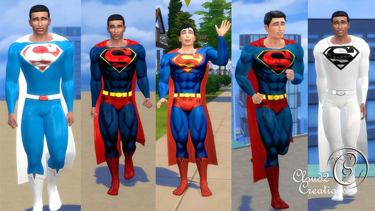 Classic Superman Suit / Sims 4 CC