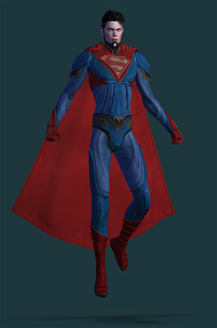 Injustice 2 Superman Set for The Sims 4