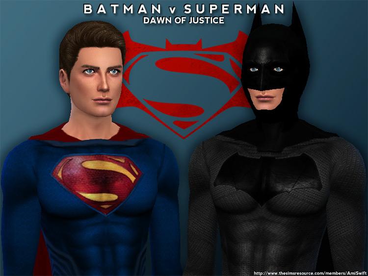 Batman vs. Superman Set / TS4 CC