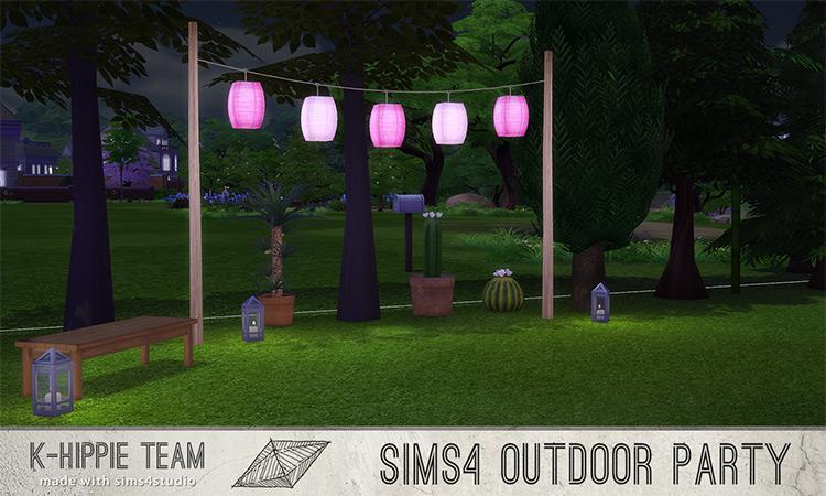 Outdoor Party Lanterns / TS4 CC
