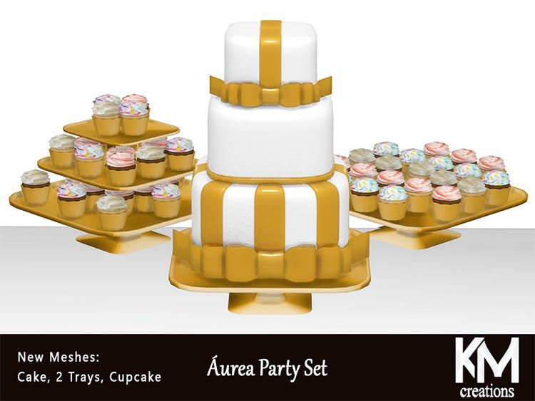 Áurea Party Set for The Sims 4