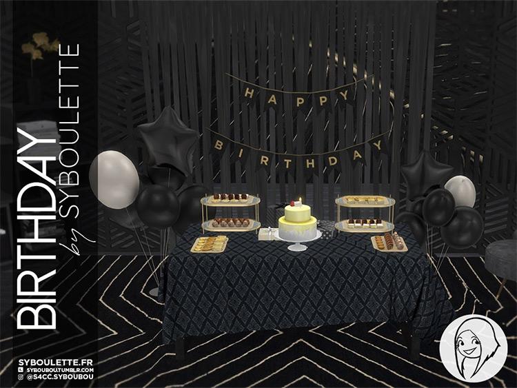 Birthday CC Set / Sims 4 CC