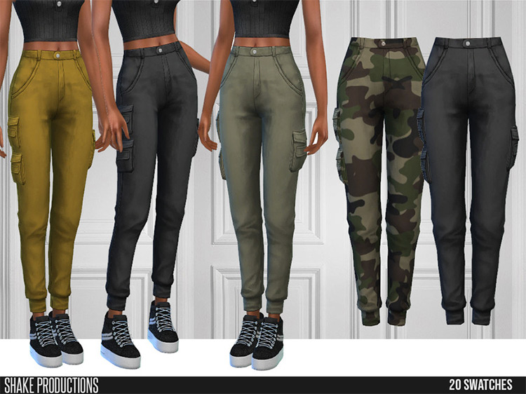 Cargo Pants Long for The Sims 4