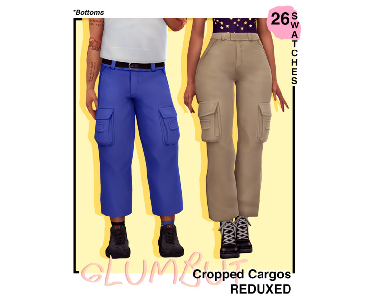 Cropped Cargos / TS4 CC