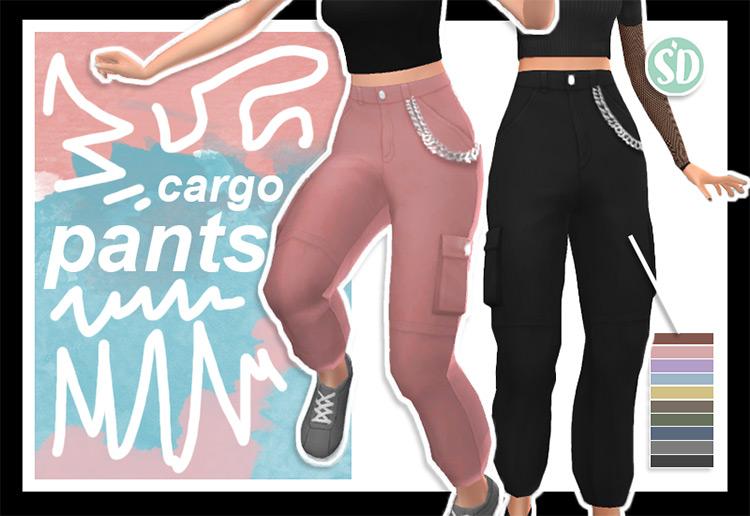 Sondescent Cargo Pants / Sims 4 CC