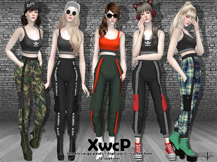 XWCP Cargo Pants / Sims 4 CC